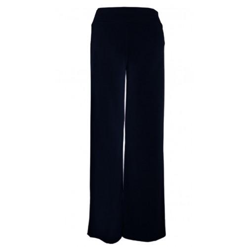 Pantalones anchos tipo crepe