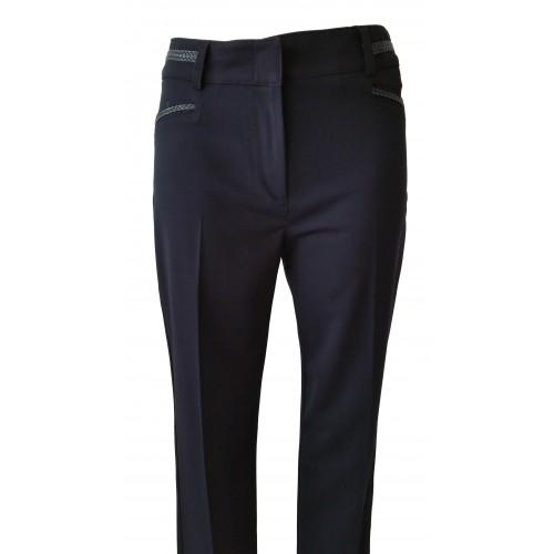 Pantalones de vestir con detalle en bolsillos