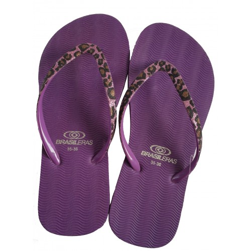Zapatos/Chanclas de Playa en animal print