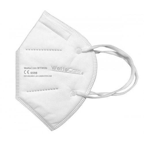 Mascarilla FFP2 CE 0598. Bolsa Cierre Grip 2 uds. Caja 20 Unidades. Unidad 1,80