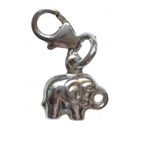 Charm Silver pendant elephant