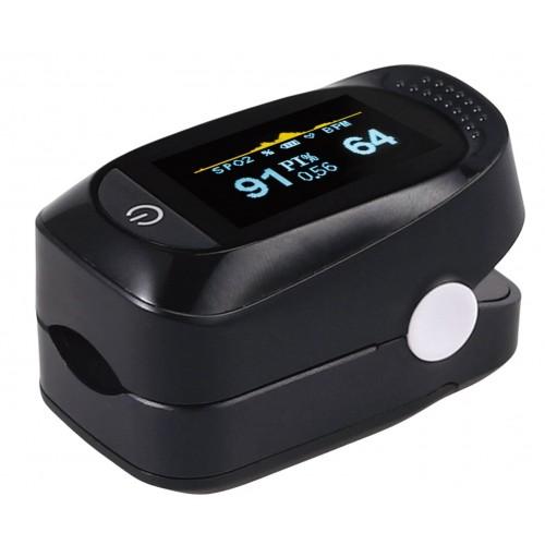 Pulsioxímetro monitor de saturación de oxígeno