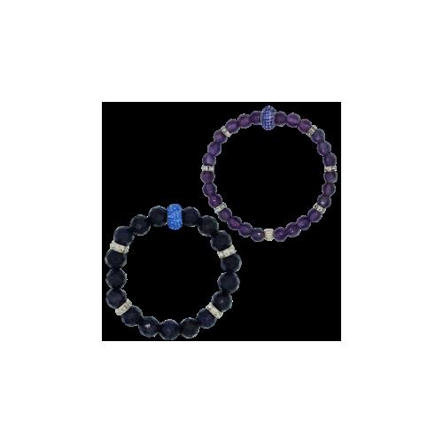 Stone/silver Bracelets